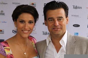 Christina Bozilovic en Wilfred Genee