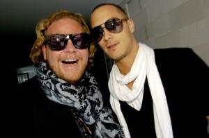 Bastiaan met P.A. Joel