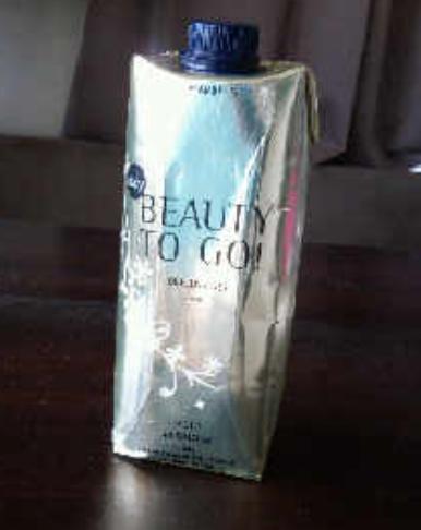 'Zuurstof uit een flesje, precies wat mijn huid dagelijks nodig heeft.'