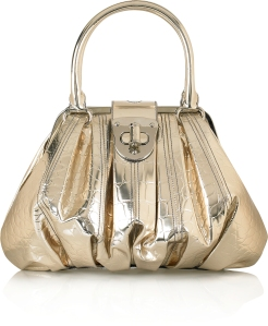 Alexander McQueen Mirrored framed bag www.theOutnet.com