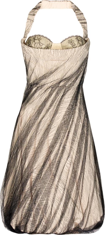 Alexander McQueen Net bustier dress www.theOutnet.com