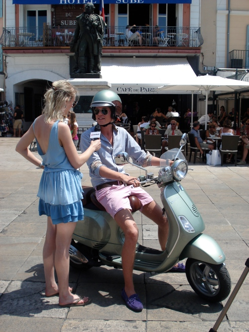 Daan bleek een geschenk uit de hemel om voor de cam te hebben: Juiste St Tropez-look, juiste antwoorden en juiste scene