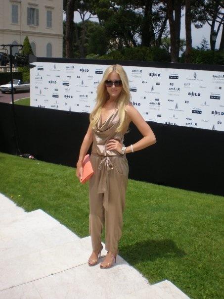 In DvF tijdens Cannes film festival