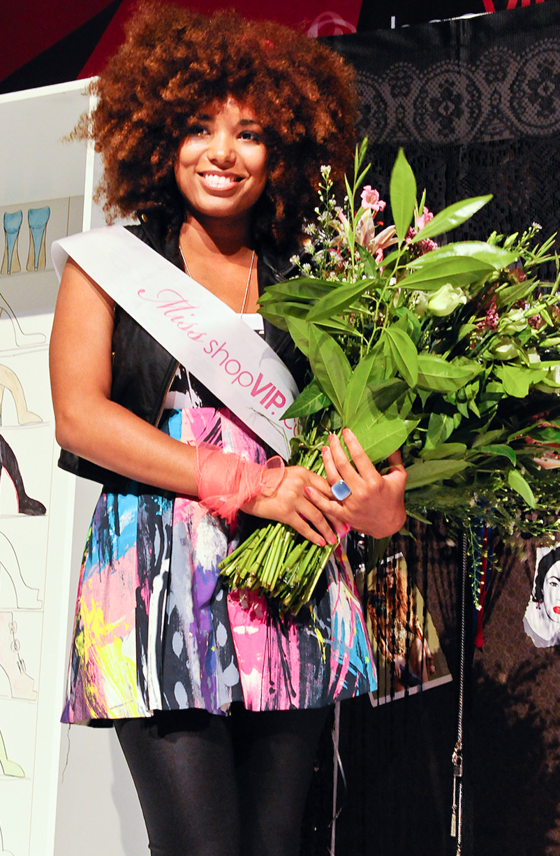Miss shopVIP winnares Robin Knitter
