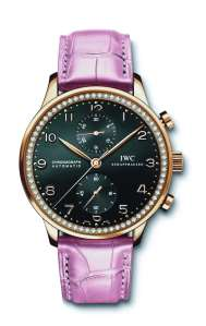 IWC Portuguese Diamonds-rose gold-Pink