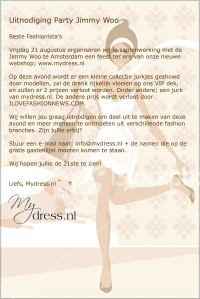 Uitnodiging MyDress