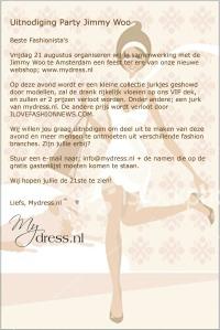 Uitnodiging MyDress